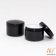 Баночка для крема (черная)  5 мл